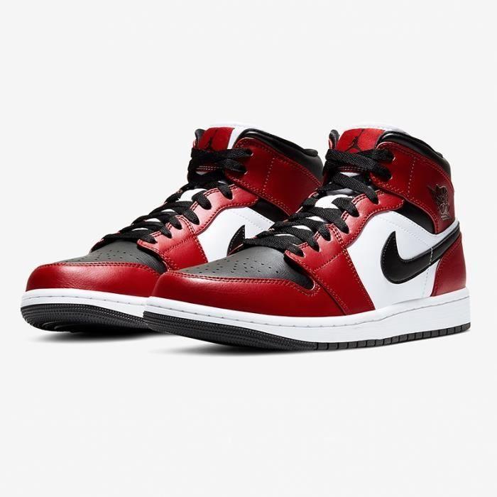 air jordan basket pas cher,Air Jordans 1 Mid Retro Chicago Black ...